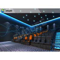 Quality Realistic Impressive 4D Movie Theater With Stable Performing Motion Seats wholesale