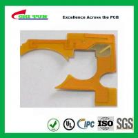 Quality IPC Standard Flexible PCB Thickness 1mil with Plaing Gold PI Material wholesale