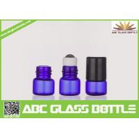 Quality Wholesale Best Cheap Blue 1ml Empty Roll On Bottle Essentail Oil Glass Bottle wholesale