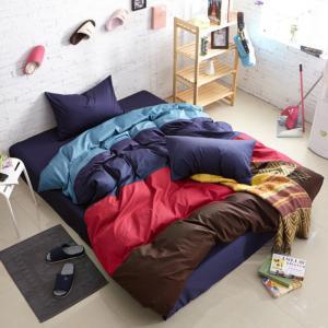 Quality Wholesale fashion pure Cotton 13372 four color matching bjx230 4colours movie bedding sets wholesale