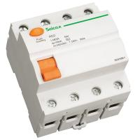 Quality 2 / 4 Pole Residual Current Circuit Breaker for Terminal and Pin / Fork Type Busbar Connection wholesale