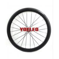 China 700C Carbon Wheels Tubular 50MM with Novatec Hubs for 10/11 Speed on sale