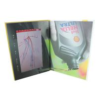 Quality Video IN Folder 10.1 inch 4GB memory video brochure card with touch screen  USB cable free provided wholesale