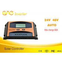 China China original design60A pwm charge controller,pwm solar charge controller  48v24v auto on sale
