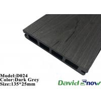 Buy cheap Outdoor Flooring WPC Plastic Composite Decking Hollow Decking 135*25mm from wholesalers