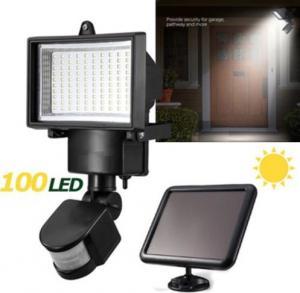 China IP65 Solar LED Flood Lights , Solar Powered Security Light With Motion Sensor on sale