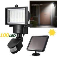 Cheap IP65 Solar LED Flood Lights , Solar Powered Security Light With Motion Sensor for sale