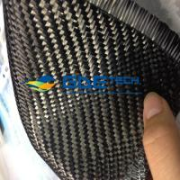 Quality 3K 200gsm Plain Carbon Fiber Fabric / Cloth wholesale