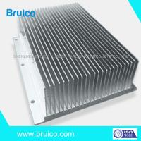 China Aluminum Extruded Shapes Aluminum Heat Sink ASTMB221 Precision Machining Services on sale