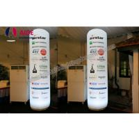 Quality Led Column Inflatable Event Decoration Advertising , Inflatable Tube With Remote Control wholesale