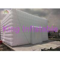 China Customized Inflatable Event Party Tent For Business Show Fire - Retartant on sale