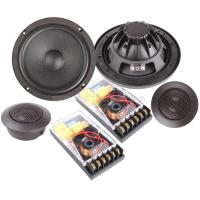 "Quality 40 watt 6.5"" vibration car component speaker , paper cone with rubber surround wholesale"