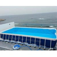 Quality Hot sale Metal Frame Swimming Pool for water park wholesale