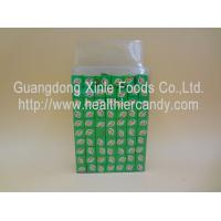 Quality Confectioners Sugar Candy Chocolate Cubes / Milk Cubes Transparent Box Pakaging wholesale