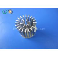 Aluminum Alloy CNC Milling Parts Heatsink Parts For LED Lights As Drawing