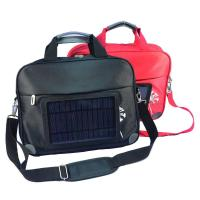 Quality Waterproof  Nylon Laptop Solar Charging Backpack With USB Battery Backup wholesale
