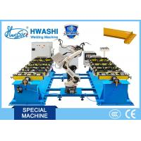 China CO2 MIG Industrial Welding Robots For Storage Rack Frame , Beam Welding Robots on sale