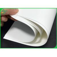 China 150um 200um Durable Non Tearable Synthetic Paper for advertising material on sale