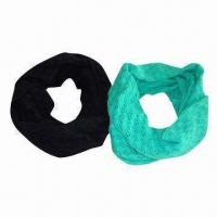 Quality 100% Acrylic Fashionable Knitted Neckwarmer, Available in Various Colors wholesale