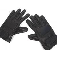 Quality Black Full Finger Tactical Gloves,Made By Soft Leather,Size: S M L XL wholesale