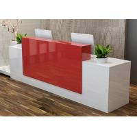 Quality Mordern Colorful Retail Checkout Counter / Cash Register Table Counter Durable wholesale