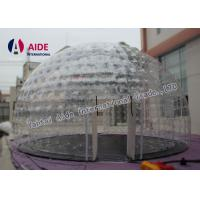 Buy cheap 0.8mm Pvc Material Dry Inflatable Event Tent Holley web Inflatable Bubble Tent House Dome from wholesalers