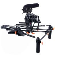 Quality New PRO dslr rig kit with Motorized Follow Focus Shoulder Rig Support Pad wholesale
