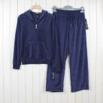 wholesale women's yoga velvet sportwear suits girl's casual athletics clothing