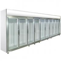 Quality Glass Door Compact Refrigerator 0 - 10 Degree Dynamic Cooling For Shop wholesale