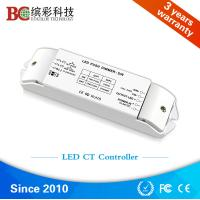 Quality Bicolor BC-422 2 channels DC12V-DC24V color temperature dimmer; Constant Voltage CCT led controller with Push Dim wholesale