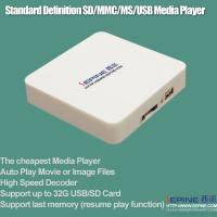 Quality multimedia digital signage media player usb memory card tv player wholesale
