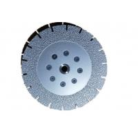 Quality 7 Inch Vacuum Brazed Diamond Cutting Blade Both Side Coated 180MM * M14 wholesale