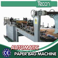 Quality Automatic Energy Saving Paper Bag Making Machine with Flexo Printing wholesale