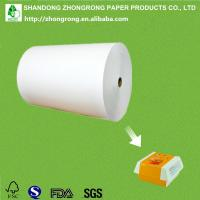 China PE coated paper for making hamburger packaging box on sale