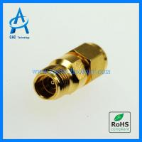 Cheap 2.92mm to 2.4mm adapter 40GHz VSWR 1.25max gold plated for sale