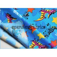 Quality Custom Made Kids Swimwear Fabric Polyester and Nylon Lycra Print wholesale