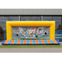 Quality CE/EN15649 Customized Inflatable Football Goal With 5 Years Or Above Lifespan wholesale