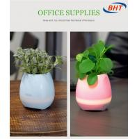 Quality Bluebooth Control Flowerpot With Music And Nice Design For Decoration wholesale