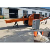 China Plastic Films Rag Cutting Machine HDPE LDPE PE Films Recycling Crusher Easy Operated on sale