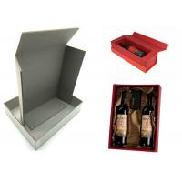 Quality Pressed Cardboard Paper Sheets Laminated Gray Board For Wine Box / Jewel Box wholesale