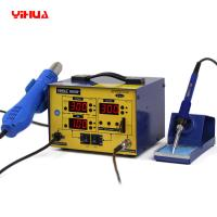 Quality Lead Free 2 In 1 Soldering Station / hot air gun rework station 720W wholesale