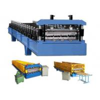 Quality Wall Cladding Corrugated Roll Forming Machine customized With Hydraulic wholesale