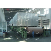 China New Design Kraft Paper Fourdrinier Paper Making Machine,Carton Recycling Kraft Paper Mill Machinery For Sale on sale