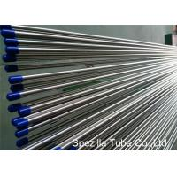 Quality Stainless Steel Welded Tube ASTM A249 , Stainless Steel Instrument Tubing 20FT Length wholesale