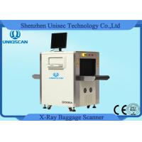 Quality Small Size X - Ray Security Baggage Scanner For Luggage , 500*300 Opening Size wholesale