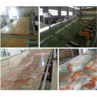 Buy cheap PVC Imitation Marble Decorative Sheet Extruder/PVC Marble Board Extrusion Machine (SJSZ80X156) from wholesalers