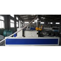Quality Window and Door Frame Plastic Profile Extrusion Line , Ceiling / Couch Profile Machine wholesale