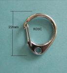 Quality 22mm Snap Hook Keyring wholesale