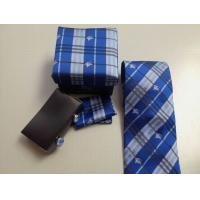Quality Sell hotest bu-rberry men suit business high-grade real silk stripes tie knot groom's tie wholesale