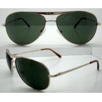 Quality Hand Made metal Frame Sunglasses For Glare Reduce wholesale